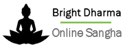 Logo Bright Dharma - Online Sangha